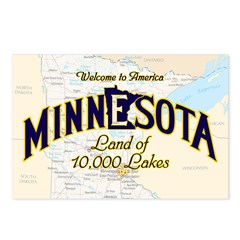 Minnesota Postcards (Package of 8)