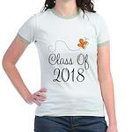 Class of 2018 Butterfly Jr. Ringer T-Shirt