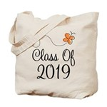 Class of 2019 Butterfly Tote Bag