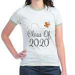 Class of 2020 Butterfly Jr. Ringer T-Shirt