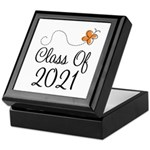 Class of 2021 Butterfly Keepsake Box