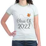 Class of 2022 Butterfly Jr. Ringer T-Shirt
