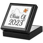 Class of 2023 Butterfly Keepsake Box