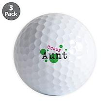Crazy Aunt Golf Ball