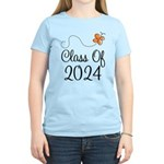 Class of 2024 Butterfly Women's Light T-Shirt