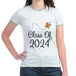 Class of 2024 Butterfly Jr. Ringer T-Shirt