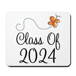 Class of 2024 Butterfly Mousepad
