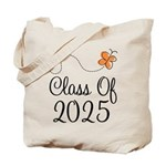 Class of 2025 Butterfly Tote Bag
