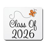 Class of 2026 Butterfly Mousepad