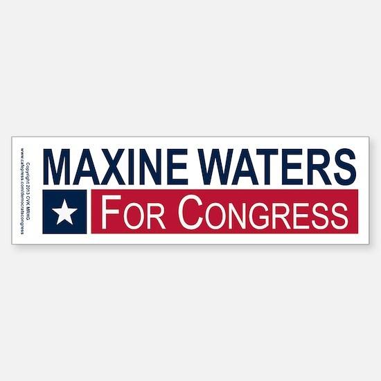 Elect Maxine Waters Sticker (Bumper)