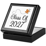 Class of 2027 Butterfly Keepsake Box