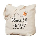 Class of 2027 Butterfly Tote Bag