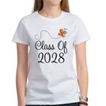 Class of 2028 Butterfly Women's T-Shirt