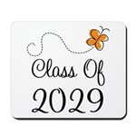 Class of 2029 Butterfly Mousepad