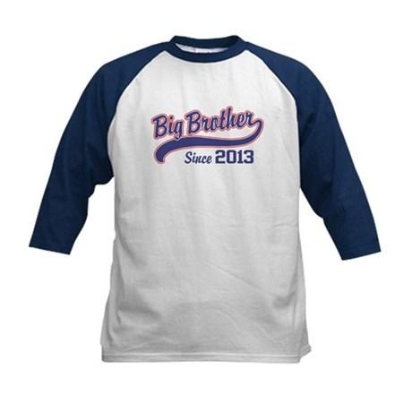 Big Brother Since 2013 Kids Baseball Jersey