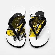 46ghost Flip Flops