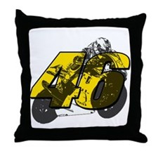 46ghost Throw Pillow