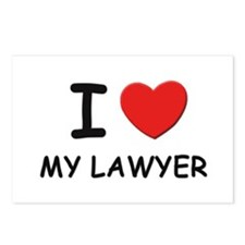 I love lawyers Postcards (Package of 8)