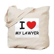 I love lawyers Tote Bag