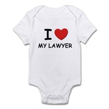 I love lawyers Infant Bodysuit