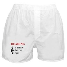 Music For The Eyes Boxer Shorts