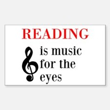 Music For The Eyes Decal