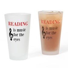 Music For The Eyes Drinking Glass