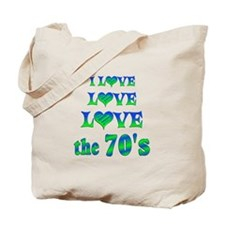 Love Love 70s Tote Bag