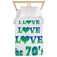 Love Love 70s Twin Duvet
