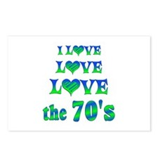 Love Love 70s Postcards (Package of 8)