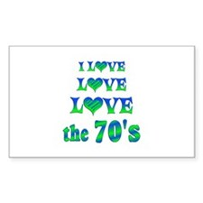 Love Love 70s Decal