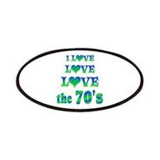 Love Love 70s Patches