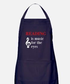 Music For The Eyes Apron (dark)