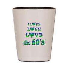 Love Love 60s Shot Glass