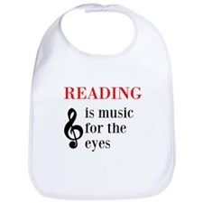 Music For The Eyes Bib