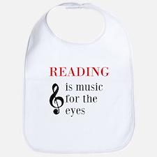 Music For The Eyes Bib