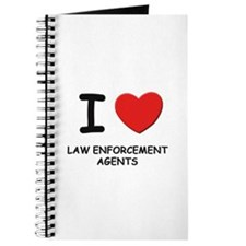 I love law enforcement agents Journal