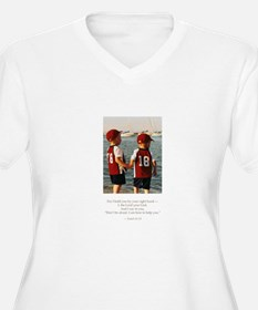 I want to help Plus Size T-Shirt