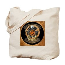 Steampunk Secret Service Badge Tote Bag