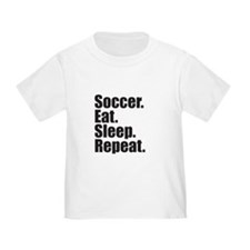 Soccer Eat Sleep Repeat T-Shirt