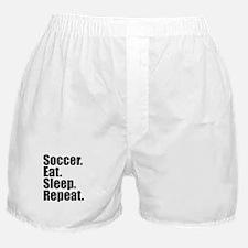 Soccer Eat Sleep Repeat Boxer Shorts