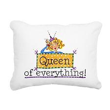Queen Of Everything.jpg Rectangular Canvas Pillow