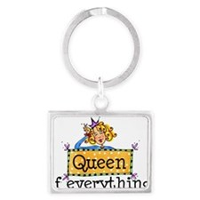 Queen Of Everything.jpg Keychains