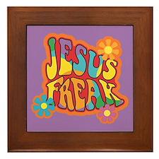 Jesus Freak Framed Tile
