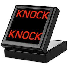 Knock Knock Keepsake Box