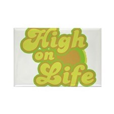 High on Life Rectangle Magnet