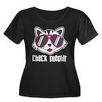Check Meowt Plus Size T-Shirt