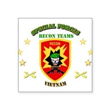 "SOF - Recon Tm - Scout Square Sticker 3"" x 3"""