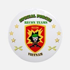 SOF - Recon Tm - Scout Ornament (Round)