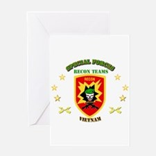 SOF - Recon Tm - Scout Greeting Card